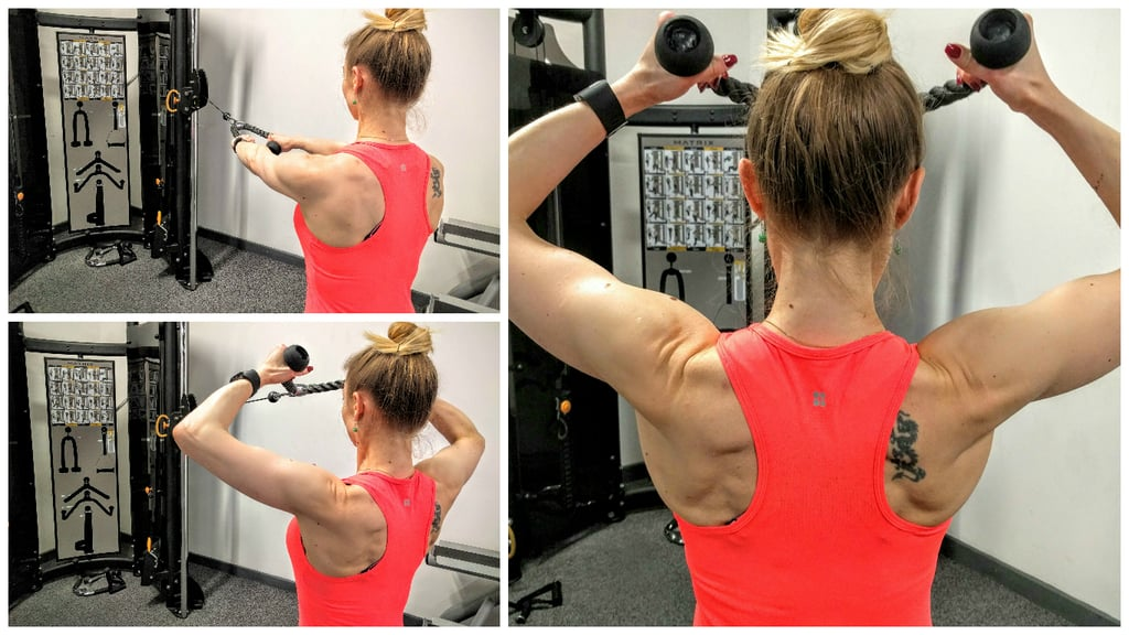 Face Pull Back And Shoulders Workout Popsugar Fitness