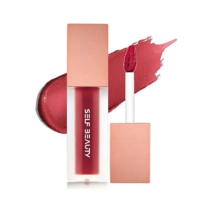 Self Beauty Sheer Matte Velvet Lipgloss, Liptint in No.203 Valentine Rosy