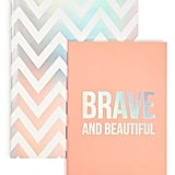 Brave and Beautiful Notebook Set