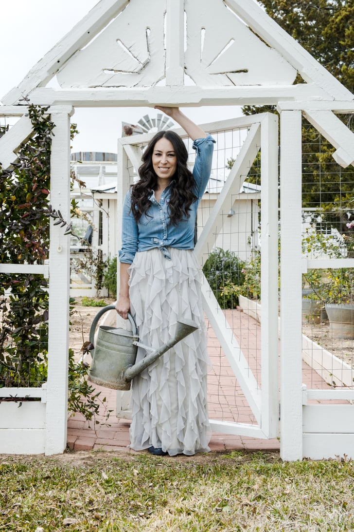 pictures of joanna gaines in darling magazine popsugar home photo 3. Black Bedroom Furniture Sets. Home Design Ideas