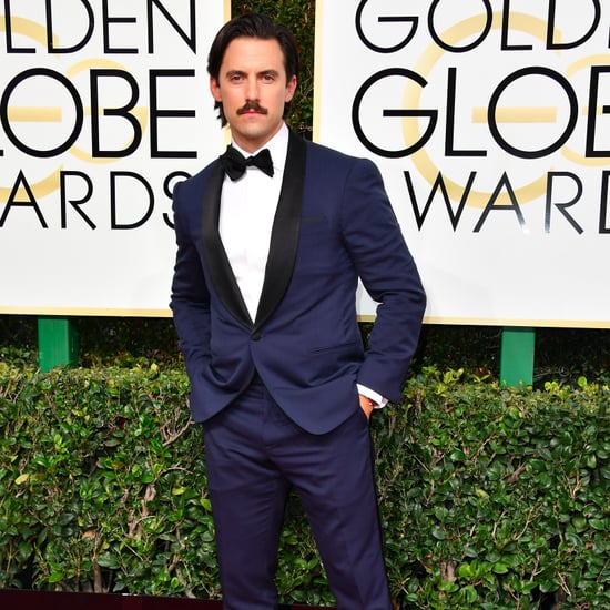 Hot Guys at the 2017 Golden Globe Awards