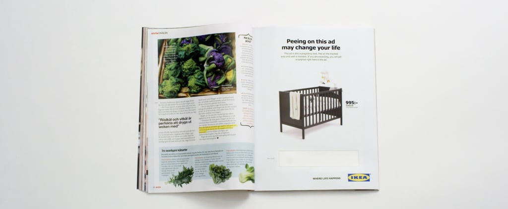 Ikea Pee Ad For Pregnant Women