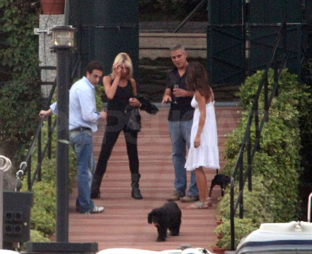 Pictures of George and Elisabetta