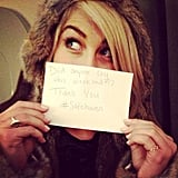 Julianne Hough shared a message with her fans about her movie Safe Haven. Source: Instagram user juleshough