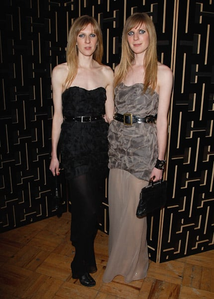 Fashion designers Annette and Daniela Felder of Felder Felder