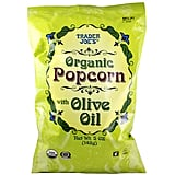 Organic Popcorn With Olive Oil ($2)