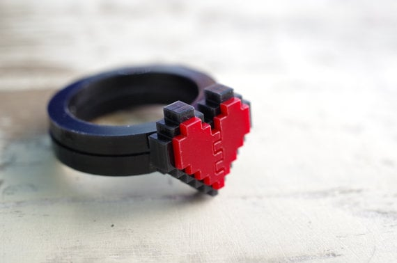 Laser-Cut Acrylic Ring