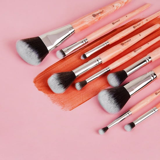 BH Cosmetics Rose Quartz Brush Set