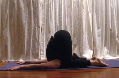 Strike a Yoga Pose:  Ear Pressure
