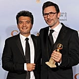 Thomas Langmann and Michel Hazanavicius
