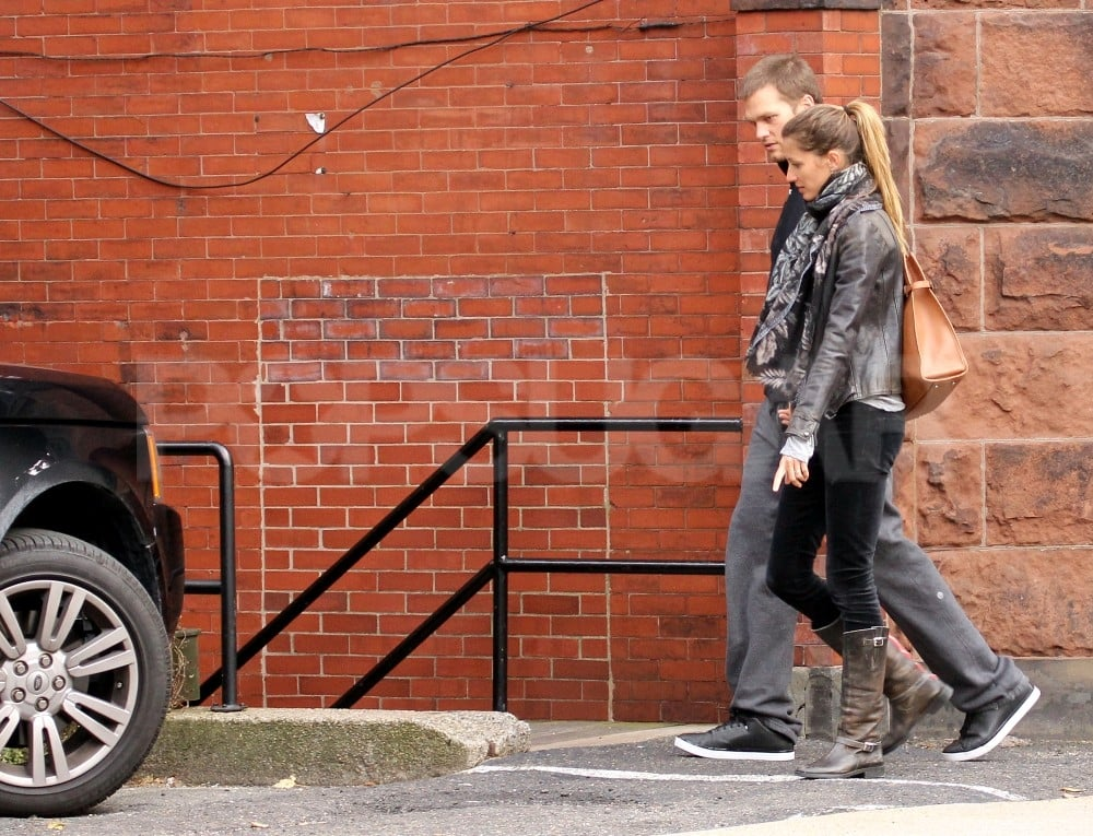 Gisele Bundchen and Tom Brady were out together in Boston.