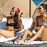 Bella Hadid and Kendall Jenner Miami Bikini Pictures