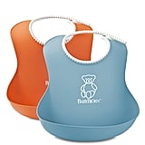 Babybjörn Soft Bib, Orange/Turquoise, 2 Pack
