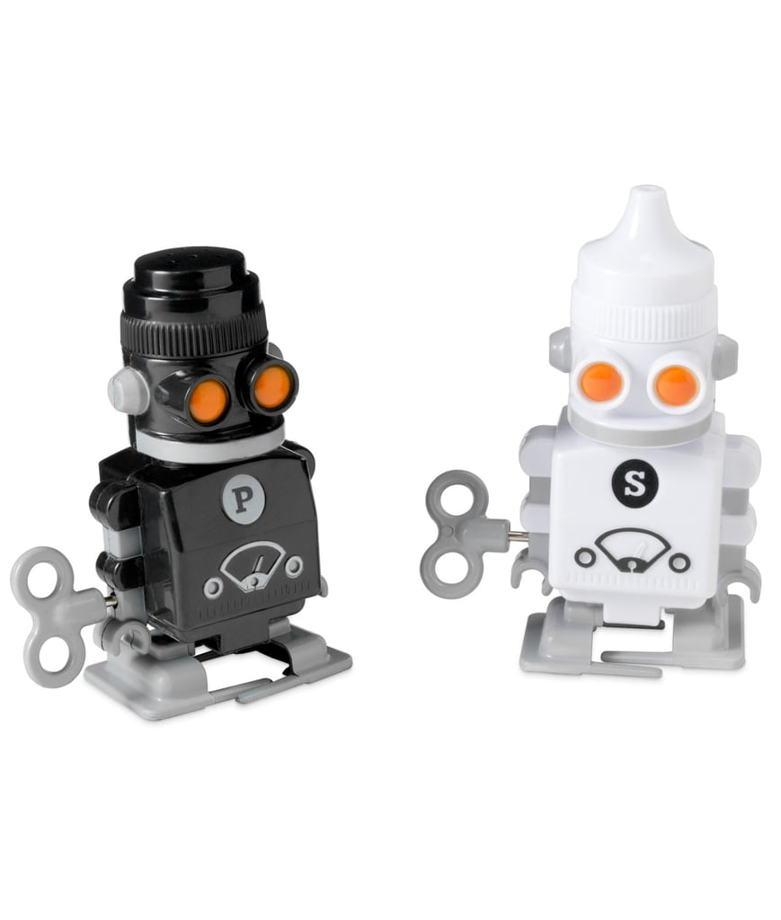 Robot Salt and Pepper Shakers