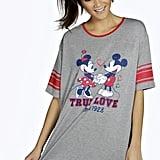 Mickey and Minnie Night Tee Dress