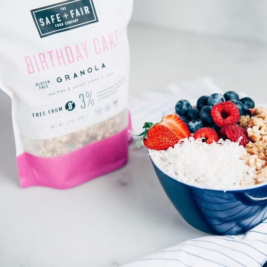 Birthday Cake Granola From Safe and Fair
