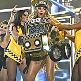"When She Looked So Good the Audience Almost Didn't Notice She Was Wearing a Taxi Costume (Emphasis on ""Almost"")"