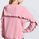 Forever 21 Ruffle Pullover