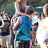 Tristan Klier picked up Bella Thorne.