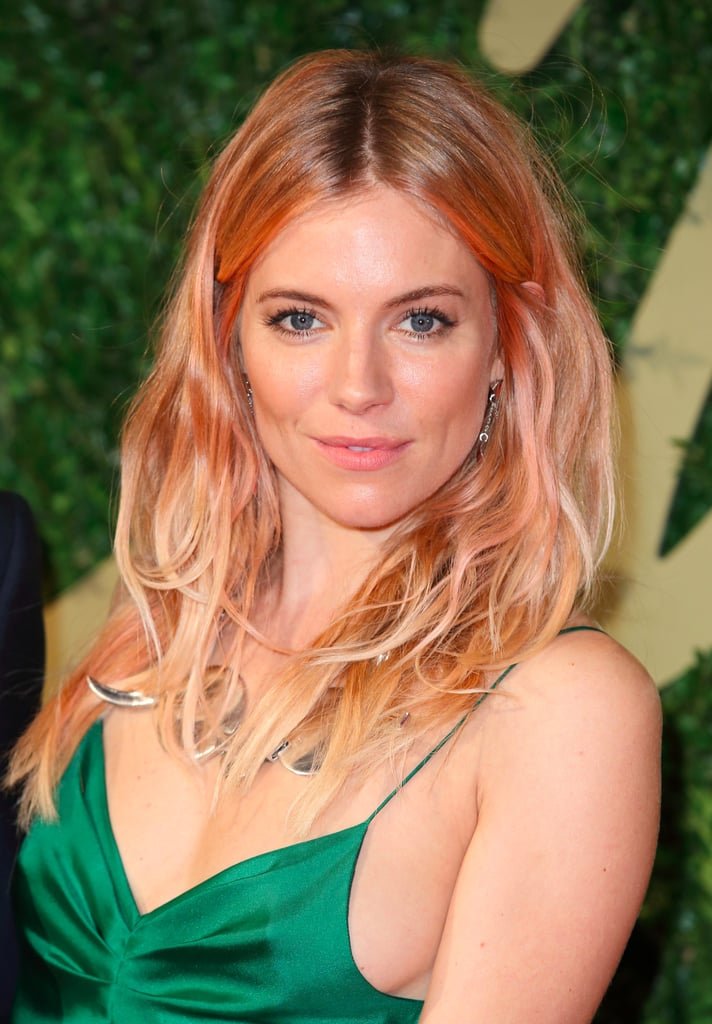 Celebrities With Rose Gold Hair | POPSUGAR Beauty