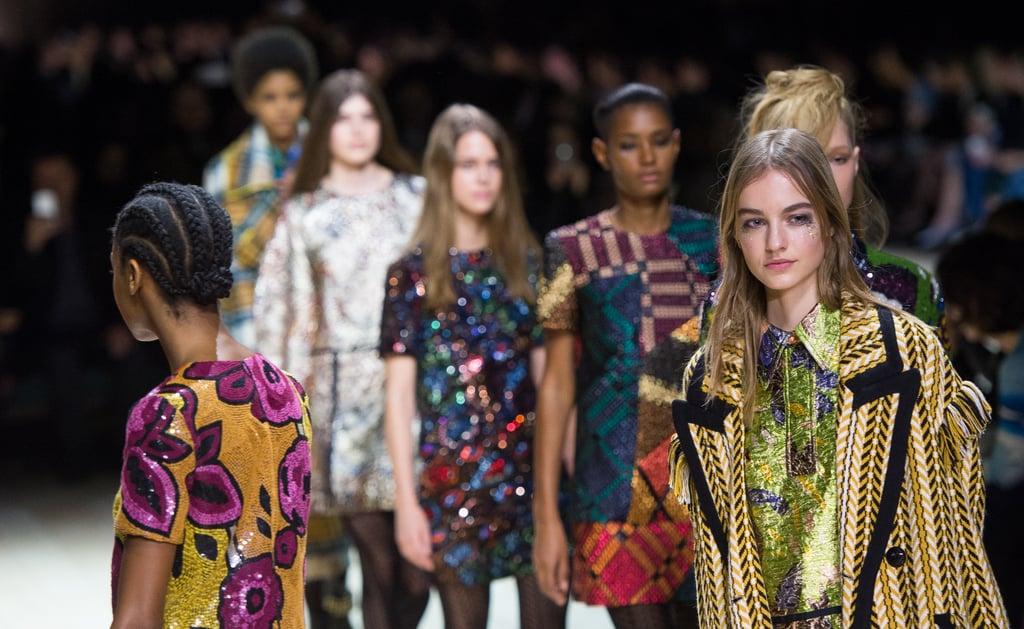 London Fashion Week Highlights Fall 2016 Popsugar Fashion