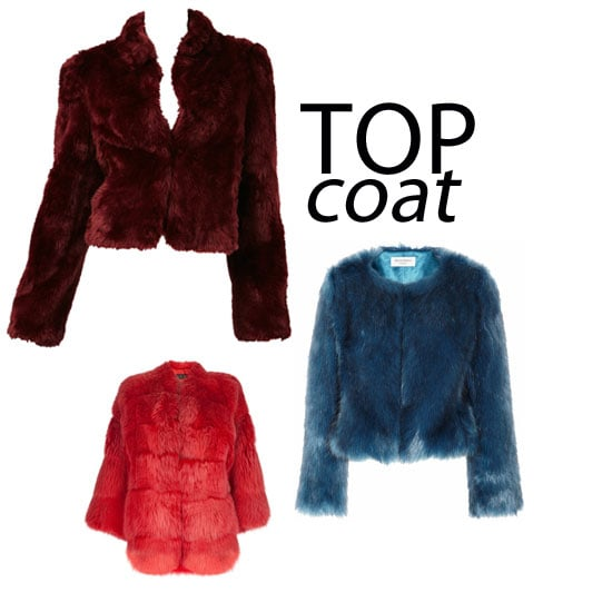 Top Five Jewel Toned Fur Jackets: Shop the Trend Online Now via Gucci, Sportsgirl, ASOS, Bardot and more!