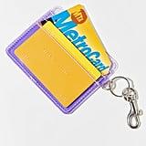 Clear Card Case Keychain
