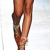 Preen by Thornton Bregazzi Shoes on the Runway at London Fashion Week