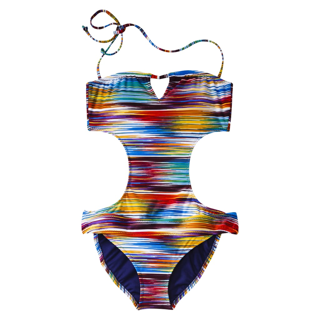 Show off some serious sexy back and side with this Mossimo monokini ($40).