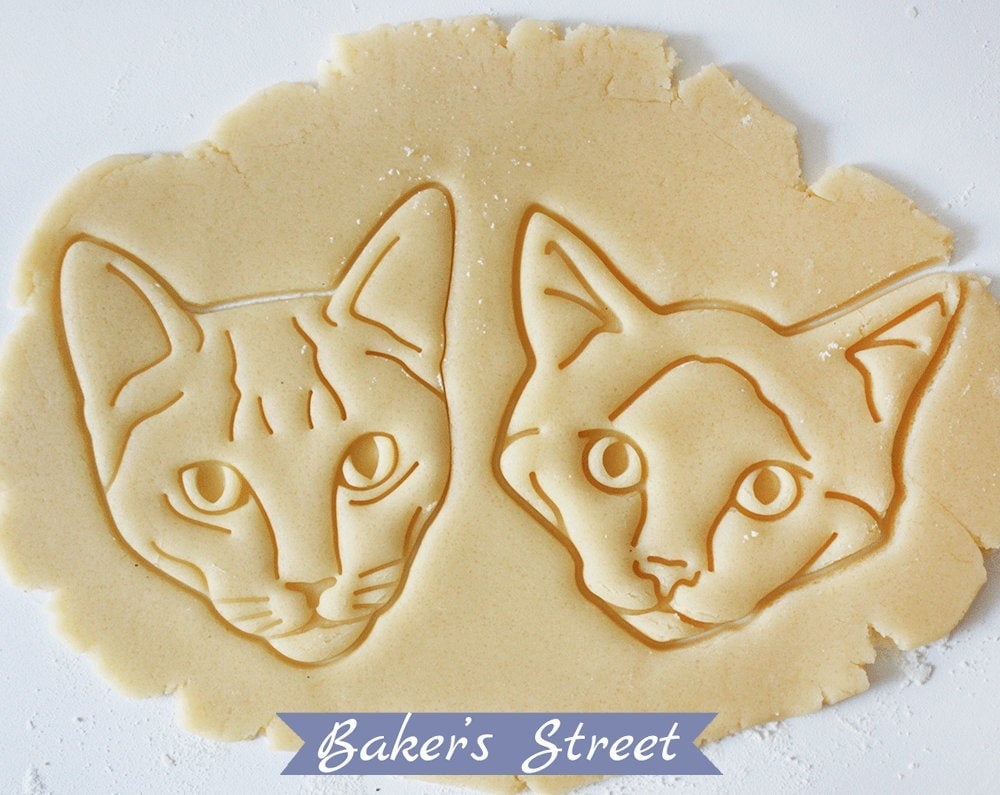 Pre-Baked Cat Cookies