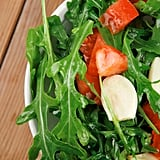 """""""Salads should be fun and exciting and packed with loads of colour,"""" Jacqueline. """"Throw together some baby spinach, rocket, cherry tomatoes, celery and avocado, and make it interesting by bulking up the protein with some almonds, walnuts or chia seeds for a great crunch factor. """"Try to have a little meat left over from dinner the night before, so you can throw in some cooked chicken or red meat."""""""