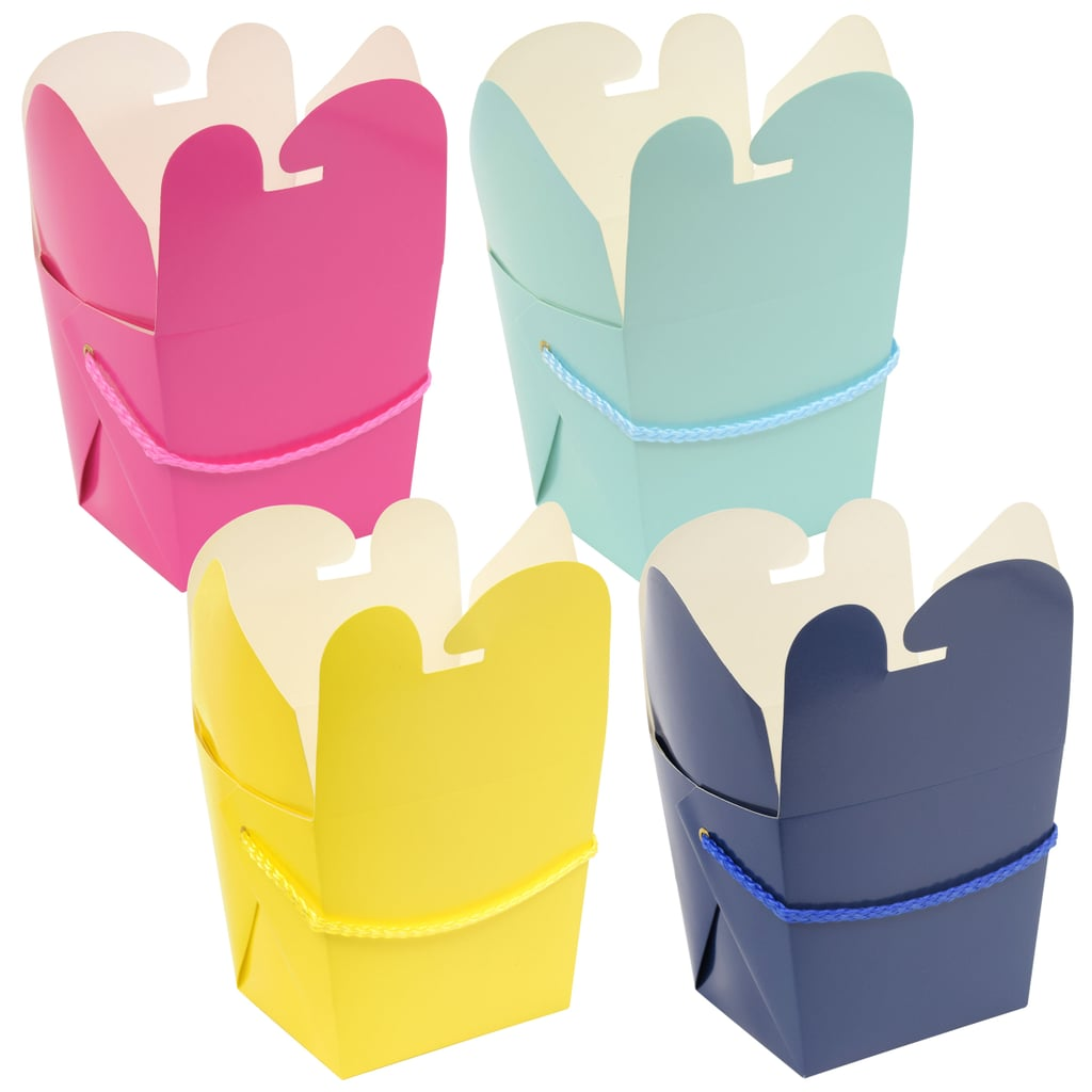 Voila Colorful Takeout Boxes ($1 per pack of three)