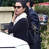 Selena Gomez was out to lunch with her mom in LA.
