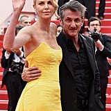 Charlize Theron and Sean Penn in 2015