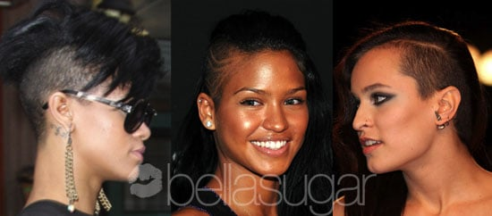 Shaved Head Pictures of Rihanna, Cassie, Alice Dellal
