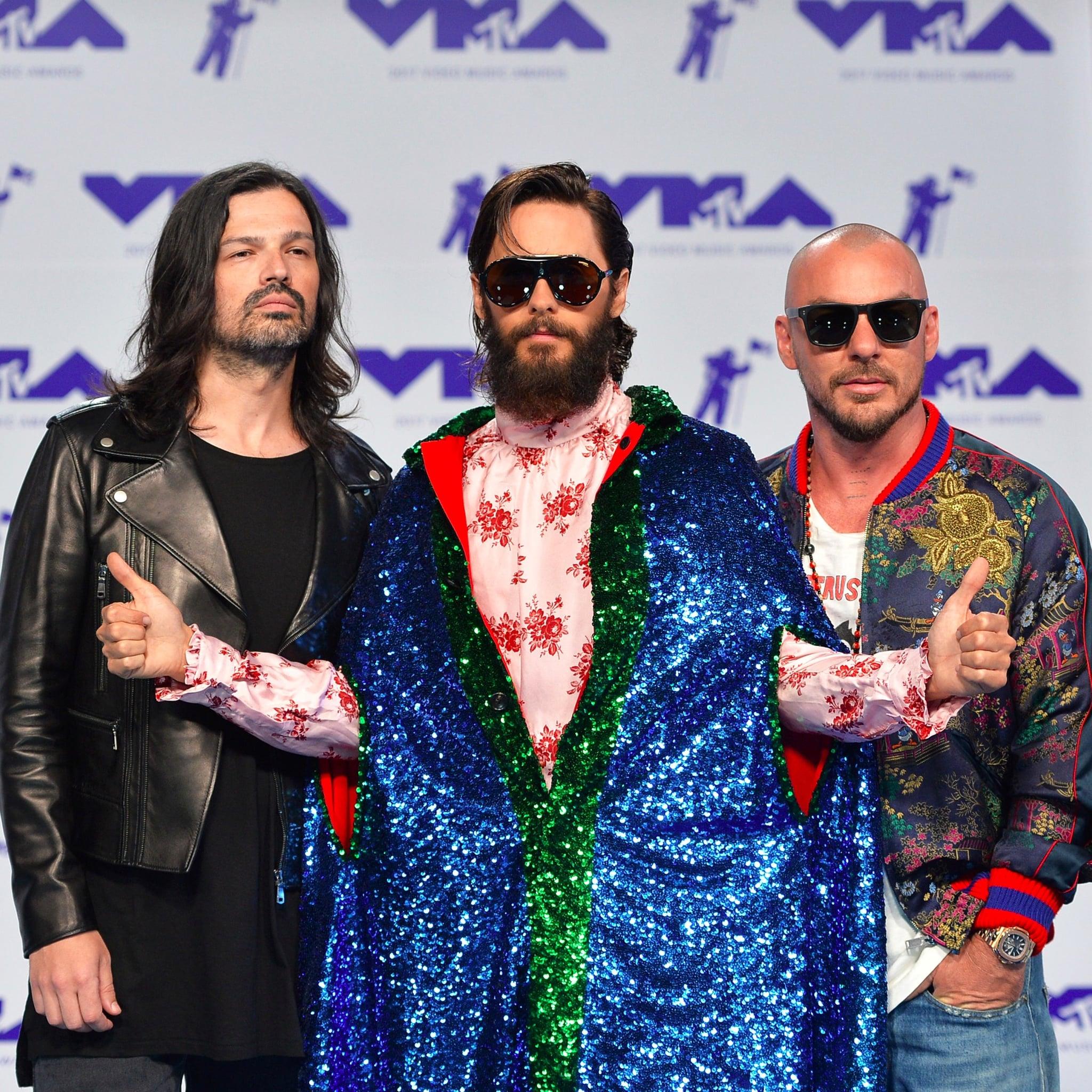 Jared leto popsugar au 30 seconds to mars mtv vmas 2017 performance m4hsunfo