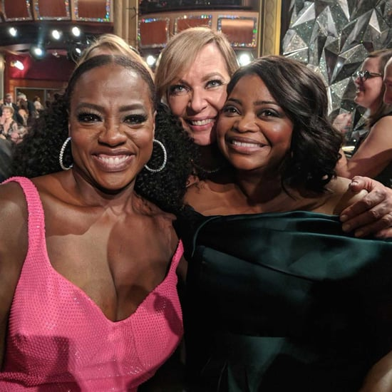 Octavia Spencer, Viola Davis, and Allison Janney 2018 Oscars