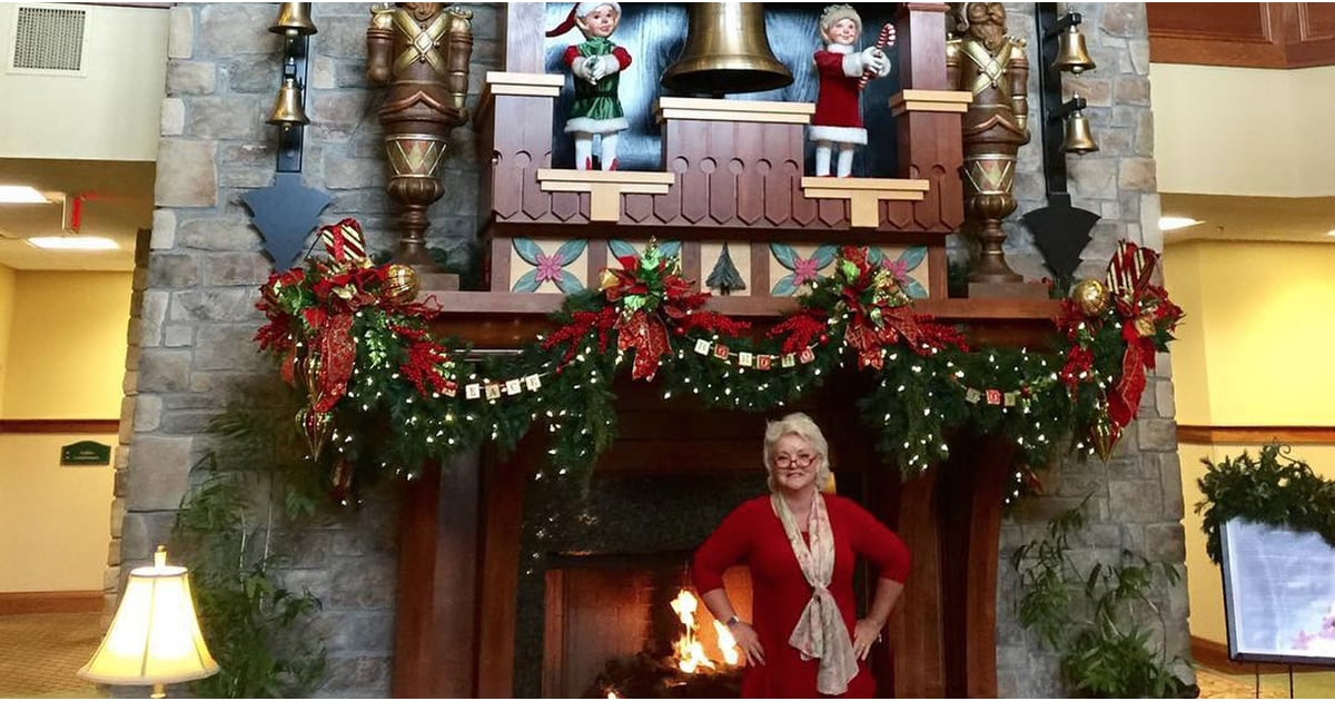 Christmas Fans, You're Going to Lose Your Mind Over This Ho, Ho, Hotel