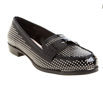 Miu Miu Studded Penny Loafer ($299, originally $750)