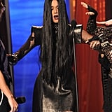 Katy Perry goes goth!