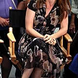Isla Fisher made an appearance on Good Morning America to promote Bachelorette in NYC.