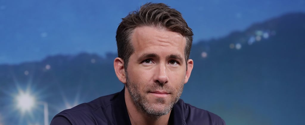 Ryan Reynolds Talks About His Anxiety May 2018