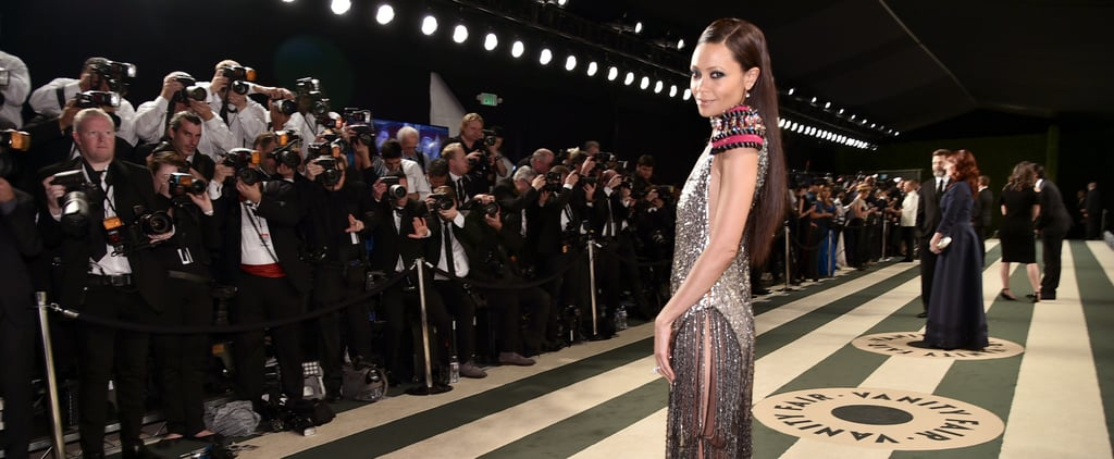 Thandie Newton's Oscars Party Dress is Better Than Some of the Red Carpet Looks