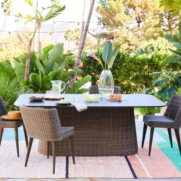 West Elm Marina Outdoor Dining Table