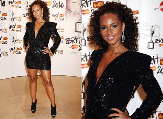 Photos of Alicia Keys at the 2010 Brit Awards