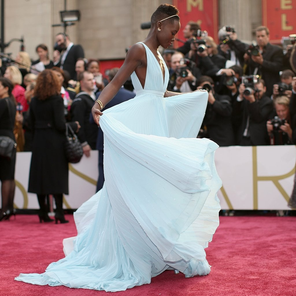 Nyongo lupita oscars dress advise to wear in spring in 2019