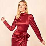 Reformation Josefine Silk Minidress