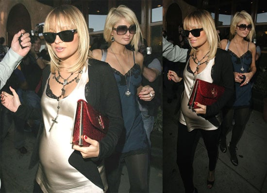 Paris Hilton, Nicole Richie and Nicky Hilton Out To Lunch 11/26/2007