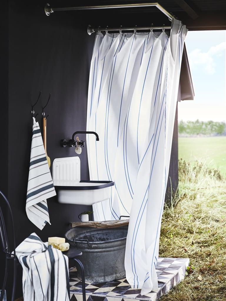 Ottsjon Towels And Shower Curtain