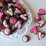Chocolate LOVE Valentine's Sugar Cookies (72 For $13)